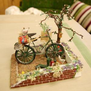 Cykel i miniatyr