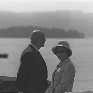 Urho Kekkonen och Elizabeth II