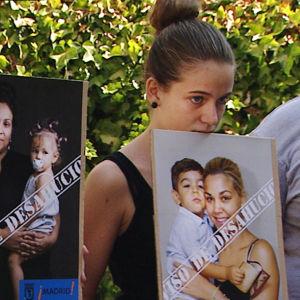 Naiset osoittavat mieltään Espanjassa