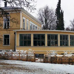 Sandviksvillan, som får namnet Villa Sandviken när man slår upp dörrarna på valborg 2017.