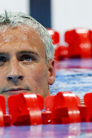 Ryan Lochte under OS i Rio.