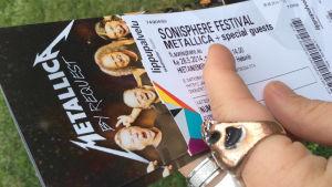 Sonisphere-biljett