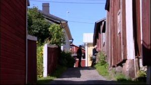 Jim och Johan vandrar i Kristinestad