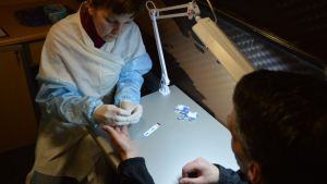 Hiv-test i Ryssland.