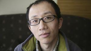 Hu Jia vann Europaparlamentets Sacharovpris 2008