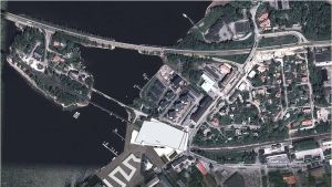 Pier 25 flygbild