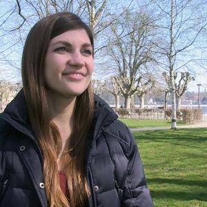 Jacqueline Straub vill någon dag bli katolsk präst.
