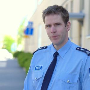 Mikael Appel, polis i Vasa.