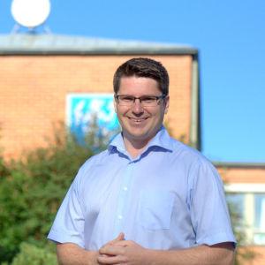 Mikko Ollikainen, ny kommundirektör i Vörå.