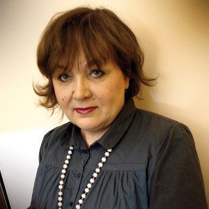 Den estniska författaren, dokumentärfilmaren och journalisten Imbi Paju.
