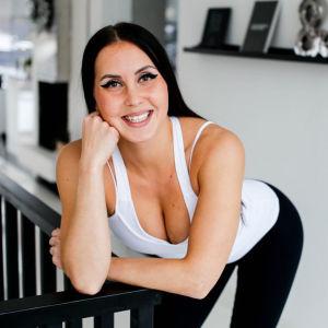 Hymyilevä Linda Paldanius