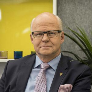 Chefdirektör Reijo Karhinen, OP Gruppen