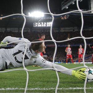 Jan Oblak, Chelsea-Atletico, 2017.