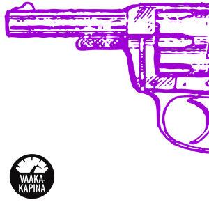 Violetti vanhanaikainen revolveri. Triggeriherkkyys on voitettavissa! Jos syöt tunteisiisi, lue tämä