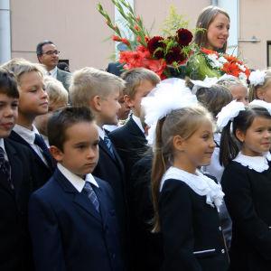 Ensimmäinen koulupäivä