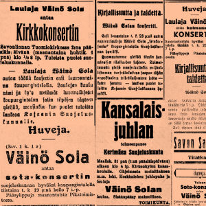 Väinö Sola.