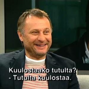 Michael Nyqvist Jussi-Pekka Rantasen haastattelussa (2009).