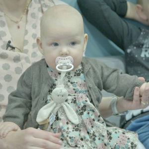 Elossa 24h ohjelmassa kuvattiin myös Aurora-vauvaa