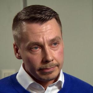 Kuvassa lapsiasiavaltuutettu Tuomas Kurttila.