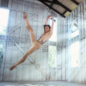 Tanssija Sergei Polunin harjoittelee