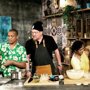 Ville Haapasalo tutustuu mauritiuslaiseen keittiöön.