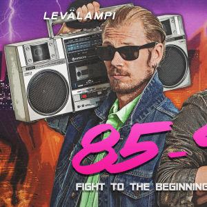 Joakim Levälampi och Tage Rönnqvist i podden 85-95 podcast. promobild.