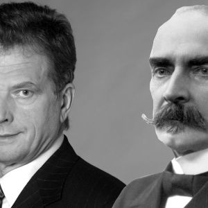 Sauli Niinistö ja K. J. Ståhlberg