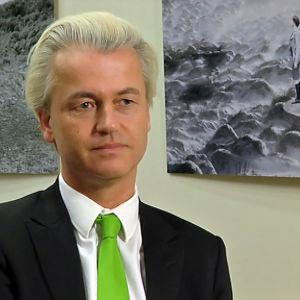 Geert Wilders, ledare för Frihetspartiet PVV, mars 2014