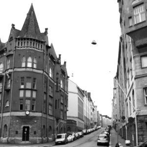 Luotsikatu Katajanokalla Helsingissä.