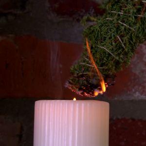 Alexandra bränner enris