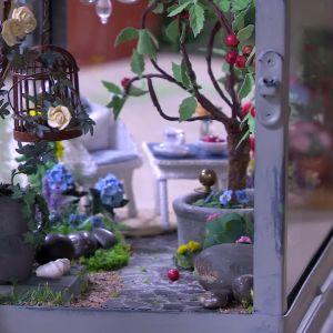 Ett växthus i miniatyr