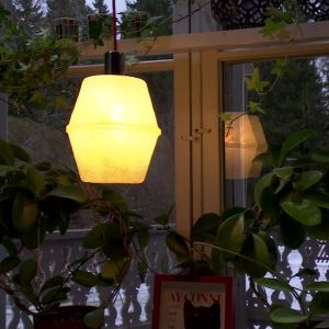 Jims glasfiberlampa
