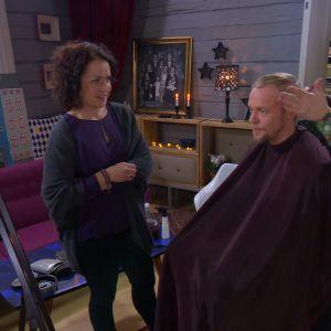 Peter Bergfeldt stylar Jim.