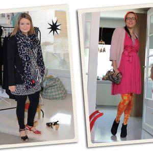 Bloggaajat Heidi Nousiainen ja Hanne Valtari