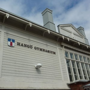 exteriör hangö gymnasium
