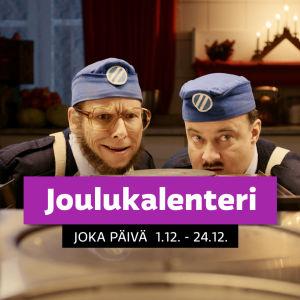 Joulukalenteri : Kadonneiden lahjojen tapaus, Maltti (Jerry Mikkelinen) ja Valtti (Jussi Ollila)