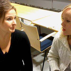 Kilpailupianisti Tuula Hällström Riikka Holopaisen haastattelussa.