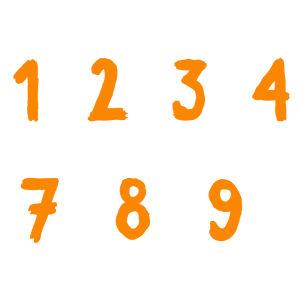 Numerot 1-10