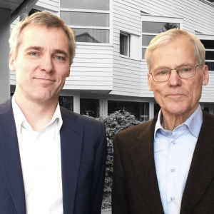 Anders ja Eric Adlercreutz ja Motel Marine