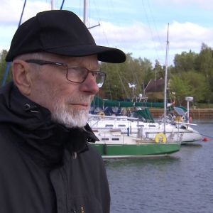 Entinen yrittäjä ja merikapteeni Tatu Hoikkala.