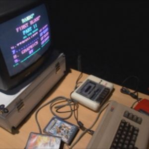 """kotimikro"" Commodore 64."