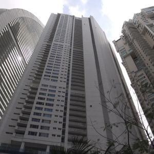 Pilvenpiirtäjiä Panama Cityssä.
