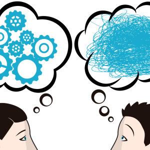 Looginen ja epälooginen ajattelija