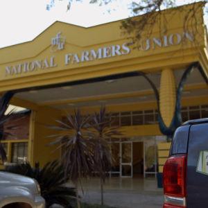 Sambian viljelyjärjestö ZNUF:n päämaja Lusakassa.
