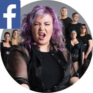 Jenny ja läskimyytinmurtajat -ryhmä Facebookissa