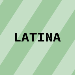Navigaatiokuva aineelle Latina.