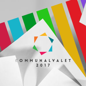 Bild på Kommunalvalet 2017 logon