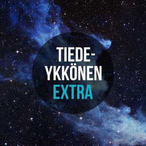 Tiedeykkönen Extra mainoskuva Maailmankaikkeus podcastille.