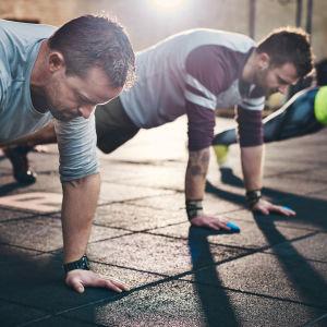 Liikuntahaasteet eivät ole riskitöntä puuhaa