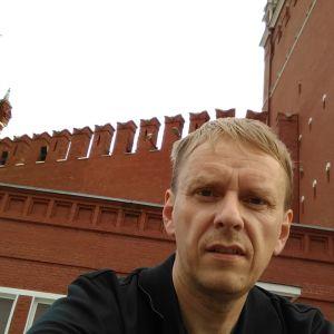 Svenska Yles Rysslandskorrespondet och författaren Anders Mård.